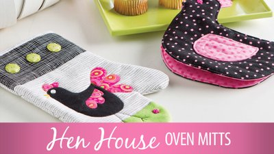Hen House Oven Mitts
