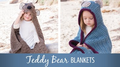Teddy Bear Blankets
