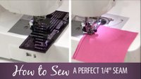 How to Sew a Perfect 1/4-inch Seam