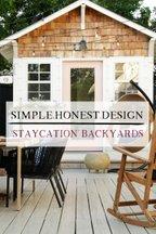 Simple.Honest.Design: Staycation Backyards