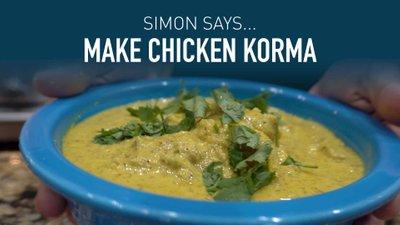 Make Chicken Korma