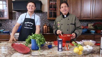 Guacamole and Shrimp with Arturo Castro